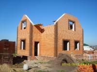 Заказной дом в пос. Ближняя Игуменка, 2013 год