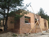 Заказной дом в с. Безлюдовка, 2013 год