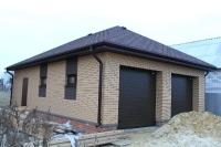 Заказной гараж в с.Пушкарное, 2014 год